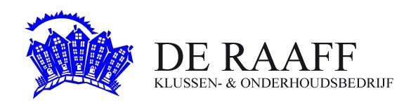 """Klussen- & Onderhoudsbedrijf  """"de Raaff"""" v.o.f. Logo"""